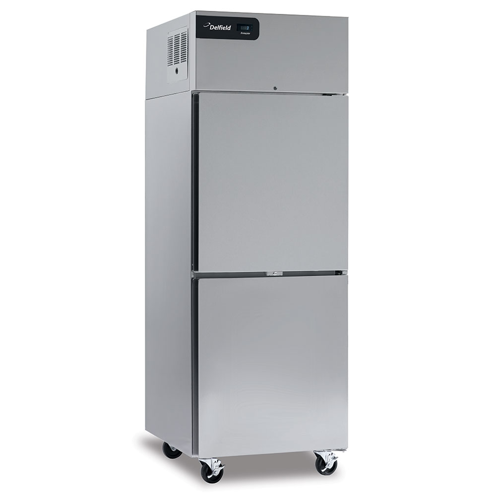 """Delfield GBF2P-S 55.2"""" Two Section Reach-In Freezer, (2) Solid Doors, 115v"""