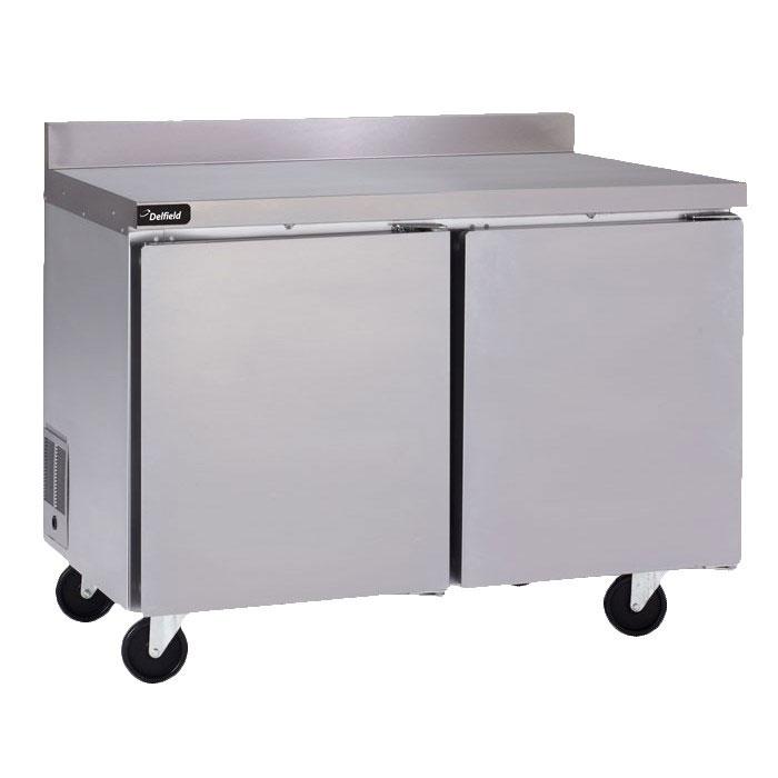 Delfield GUF60BP-S 11.7-cu ft Worktop Freezer w/ (2) Sections & (2) Doors, 115v