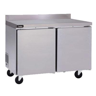 "Delfield GUR27BP-S 27"" Worktop Refrigerator w/ (1) Section, 115v"