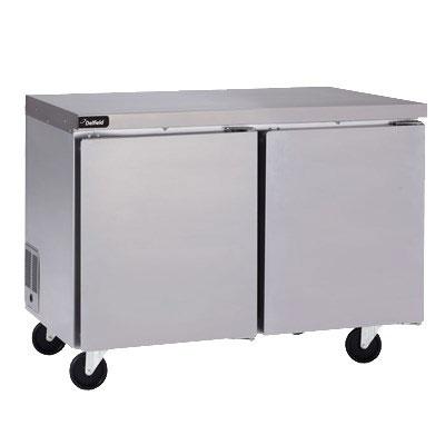 "Delfield GUR32P-S 32"" Worktop Refrigerator w/ (1) Section, 115v"