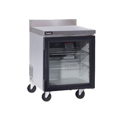 "Delfield GUR48BP-G 48"" Worktop Refrigerator w/ (2) Sections, 115v"