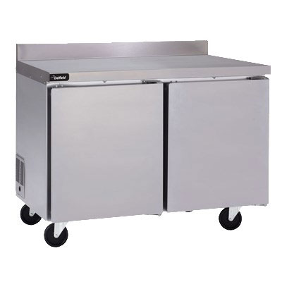 "Delfield GUR60BP-S 60"" Worktop Refrigerator w/ (2) Sections, 115v"