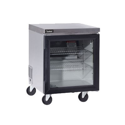 "Delfield GUR72P-G 72"" Worktop Refrigerator w/ (3) Sections, 115v"