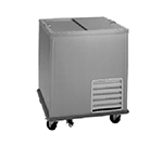 Delfield N-1530 Milk Cooler w/ Top Access - (744) Half Pin