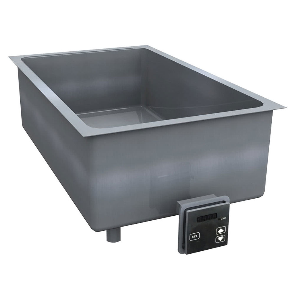 "Delfield N8717-DESP 17"" Drop-In Hot Food Well w/ (1) Pan Capacity, 208-230v/1ph"