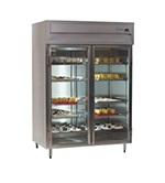 "Delfield SAF2-G 56"" Two Section Reach-In Freezer, (2) Glass Doors, 115v"