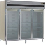 Delfield SAH3-G 3-Section Reach-In Hot Food Cabinet w/ Full Glass, 78.89-cu ft, 120/208-230V