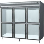 Delfield SAH3-GH 3-Section Reach-In Hot Food Cabinet w/ Half Glass, 78.89-cu ft, 120/208-230V