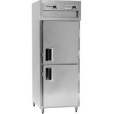 Delfield SAHPT1-SH Single Pass-Thru Hot Food Cabinet w/ Solid Half Door, 120/208-230 V