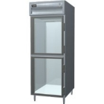 "Delfield SARPT1-GHSH 29"" Single Section Pass-Thru Refrigerator, (2) Glass Door, 115v"