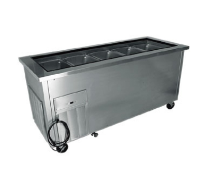 Delfield SCSC36B 26-in Cold Food Serving Counter w/ Drain & Valve, Enclosed Base