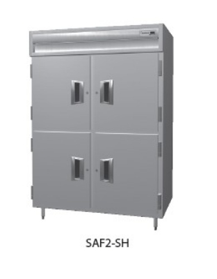 "Delfield SMF2-SH 56"" Two Section Reach-In Freezer, (4) Solid Doors, 115v"