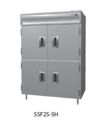 "Delfield SMF2S-SH 56"" Two Section Reach-In Freezer, (4) Solid Doors, 115v"
