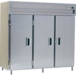 "Delfield SMF3-S 83"" Three Section Reach-In Freezer, (3) Solid Doors, 115v"