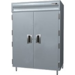 Delfield SMH2N-S 2-Section Reach-In Hot Food Cabinet w/ Full Solid, 43.04-cu ft, 120/208-230V