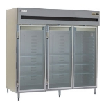 Delfield SMH3-G 3-Section Reach-In Hot food Cabinet w/ Glass Full, 78.89-cu ft, 120/208-230V