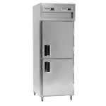 Delfield SMHPT1-SH 1-Section Pass-Thru Hot Food Cabinet w/ Solid Half, 24.96-cu ft, 120/208-230V