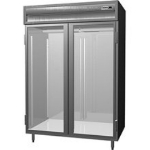 Delfield SMHRI2-G 2-Section Roll-In Hot Food Cabinet w/ Glass Full, 74.72-cu ft, 120/208-230V