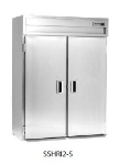 Delfield SMHRI2-S 2-Section Roll-In Hot Food Cabinet w/ Solid Full, 74.72-cu ft, 120/208-230V