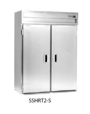 Delfield SMHRT1-S Roll-Thru Single Section Hot Food Cabinet w/ Full Door, 38.58-cu ft