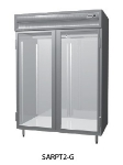 "Delfield SMRPT1-GHSH 29"" Single Section Pass-Thru Refrigerator, (2) Glass Door, 115v"