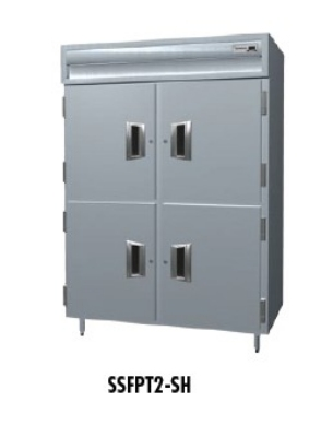 "Delfield SSFPT1-SH 29"" Single Section Pass Thru Freezer, (2) Solid Doors, 115v"