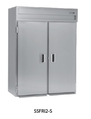 "Delfield SSFRI1-S 34"" Single Section Roll-In Freezer, (1) Solid Door, 115v"