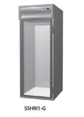 Delfield SSHRI2-G 2-Section Roll-In Hot Food Cabinet w/ Full Glass Door, 74.72-cu ft