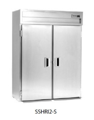 Delfield SSHRI3-S 3-Section Roll-In Hot Food Cabinet w/ Full Solid Door, 113.28-cu ft