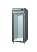 "Delfield SSRPT1-GS 29"" Single Section Pass-Thru Refrigerator, (1) Glass Door, 115v"