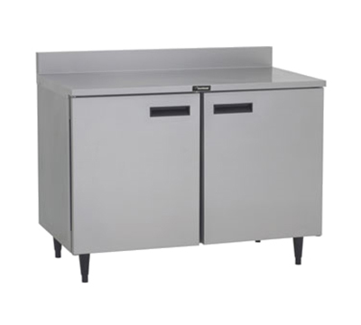 """Delfield ST4048 48"""" Work Top Refrigerator w/ (2) Sections, 115v"""