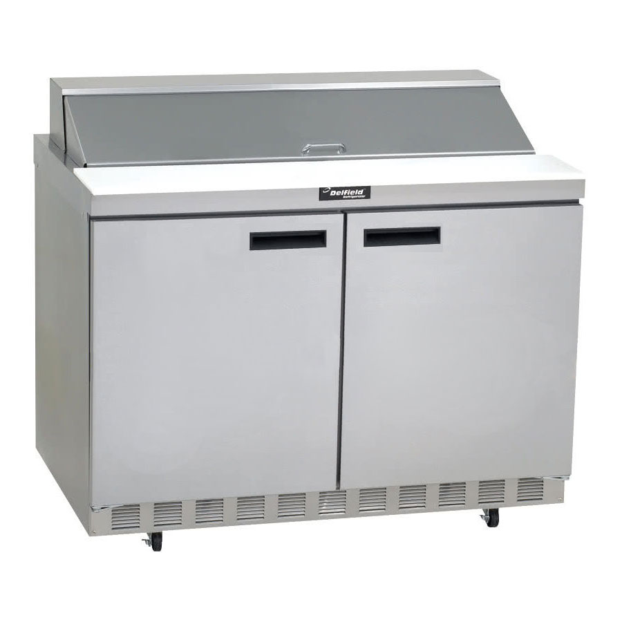 "Delfield ST4464N-12 64"" Sandwich/Salad Prep Table w/ Refrigerated Base, 115v"