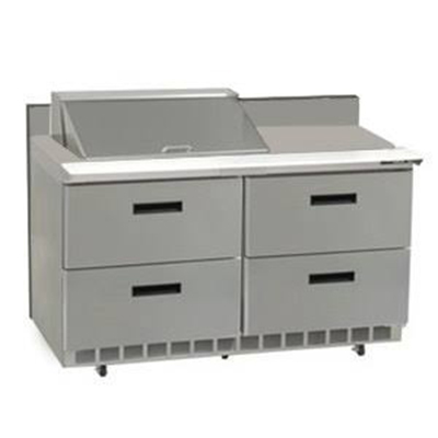 Delfield T-1014 Enclosed Mobile Tray Dispenser w/ Self-Leveling Platform, For 11 x 15-in