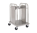 Delfield TT-2020 Mobile Single Self-Leveling Tray Dispenser w/ Open Frame for 20 x 21""