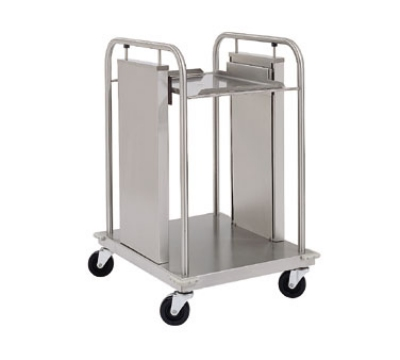 Delfield TT-1216 Mobile Single Self-Leveling Tray Dispenser w/ Open Frame for 12 x 16""