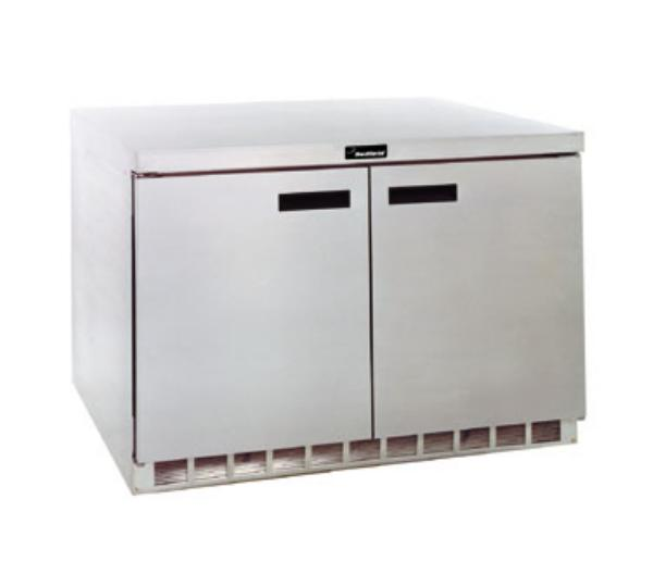 Delfield UC4448N 16- cu ft  Undercounter Refrigerator w/ (2) Sections & (2) Doors, 115v