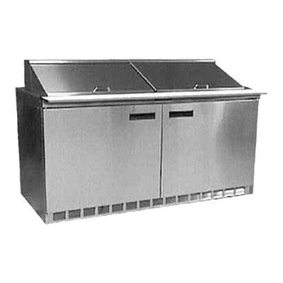 "Delfield UC4460N-12 60"" Sandwich/Salad Prep Table w/ Refrigerated Base, 115v"