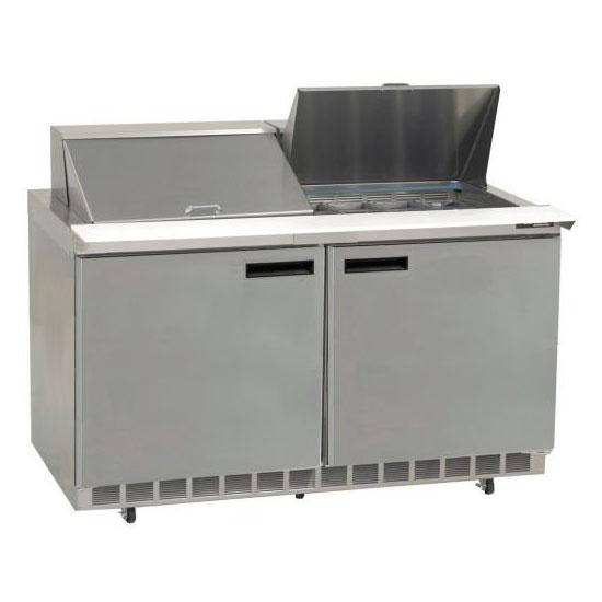 "Delfield UC4464N-12 64"" Sandwich/Salad Prep Table w/ Refrigerated Base, 115v"