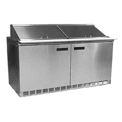 "Delfield UC4464N-16 64"" Sandwich/Salad Prep Table w/ Refrigerated Base, 115v"