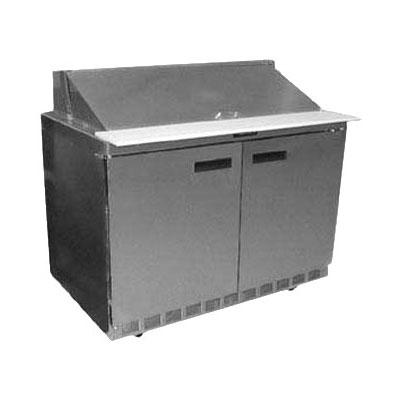 "Delfield UC4464N-18M 64"" Sandwich/Salad Prep Table w/ Refrigerated Base, 115v"