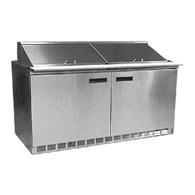 "Delfield UC4464N-24M 64"" Sandwich/Salad Prep Table w/ Refrigerated Base, 115v"