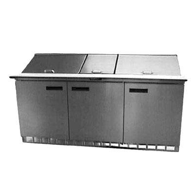 "Delfield UC4472N-30M 72"" Sandwich/Salad Prep Table w/ Refrigerated Base, 115v"