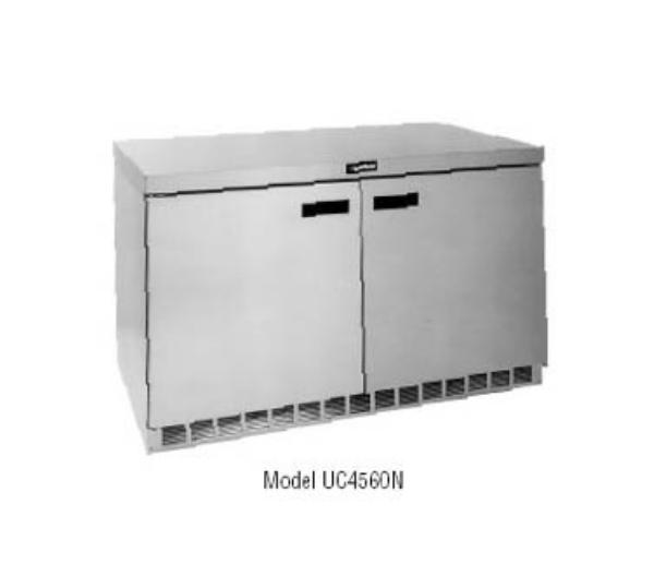 Delfield UC4560N 16.9-cu ft Undercounter Freezer w/ (2) Sections & (2) Doors, 115v