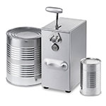Edlund 203/115V Electric Can Opener w/ 2-Speeds, 75-Cans/Day, 115v