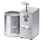 Edlund 266 Electric 1 Speed Can Opener, 75 Cans Per Day, 230 V