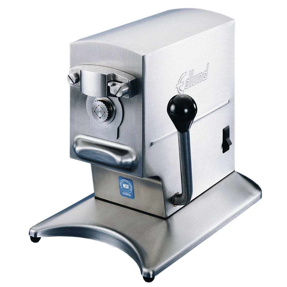 Edlund 270/115V Can Opener w/ 2-Speeds, Heavy Volume Up To 200 Cans/Day, 115 V