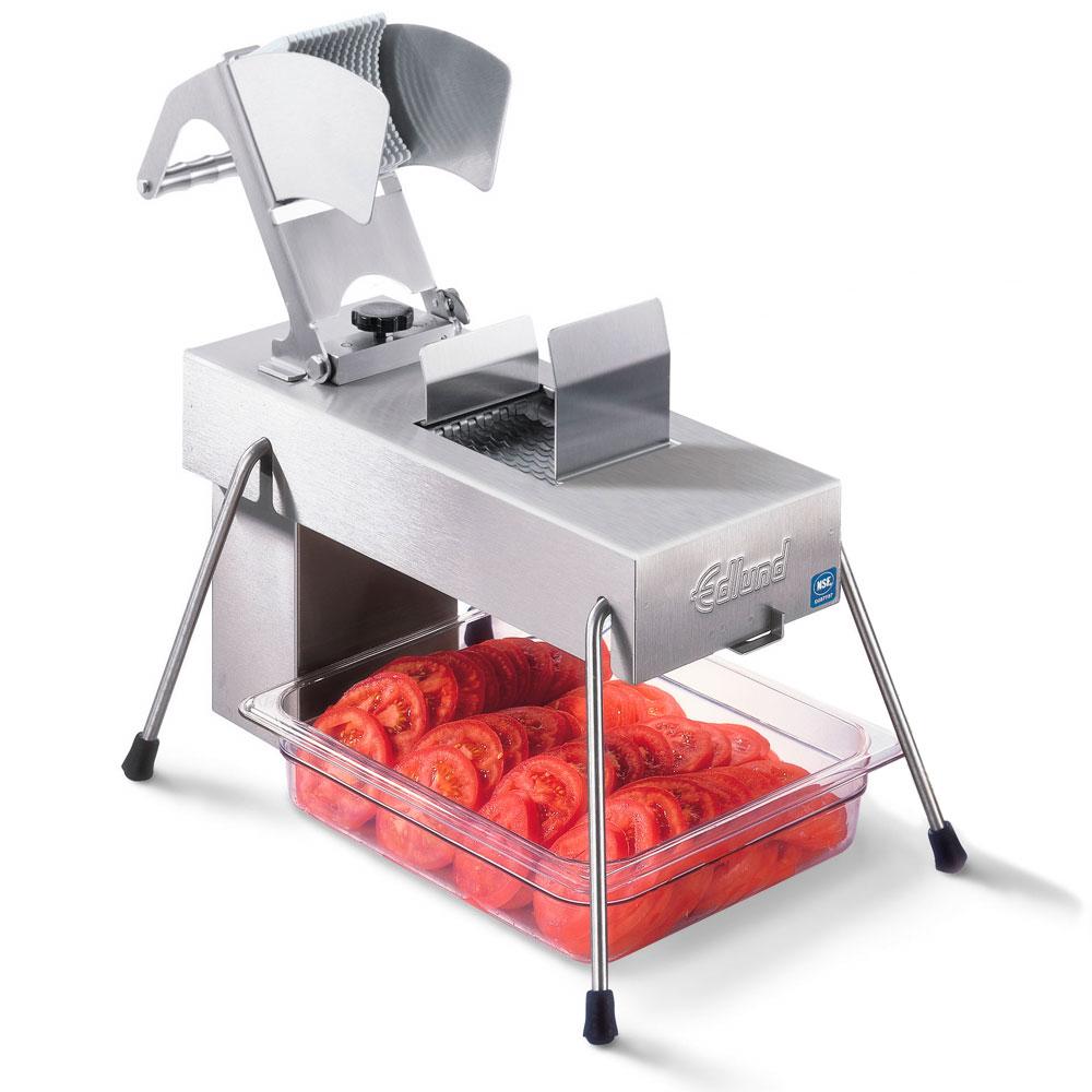 """Edlund 354/115V Stainless Steel Food Slicer, 1/4"""" Blades, Soft Fruits, 115 V"""