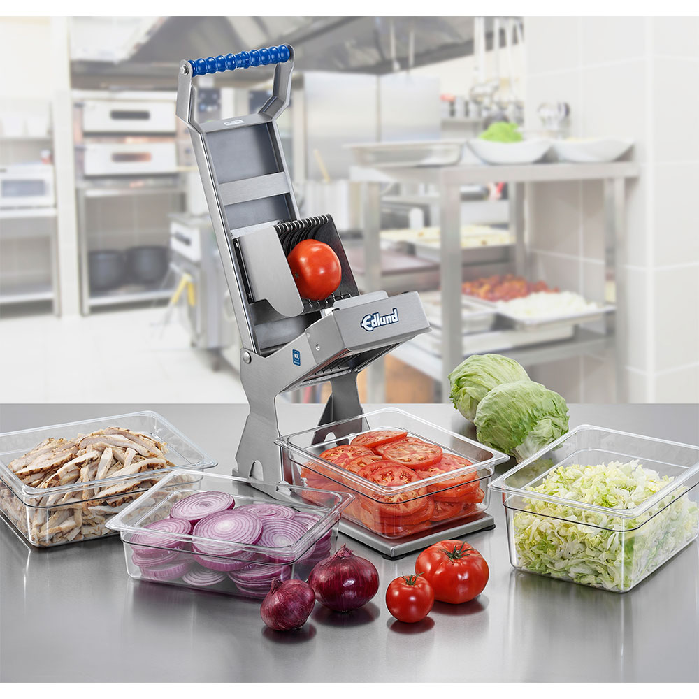 "Edlund ARCXL-138 3/8"" Manual Fruit/Vegetable Slicer - Stainless"
