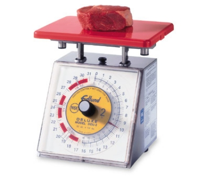 Edlund DOU-2 Scale,32 oz x 1/4 oz, Dial Type, Rotating Dial w/ Air Dashpot
