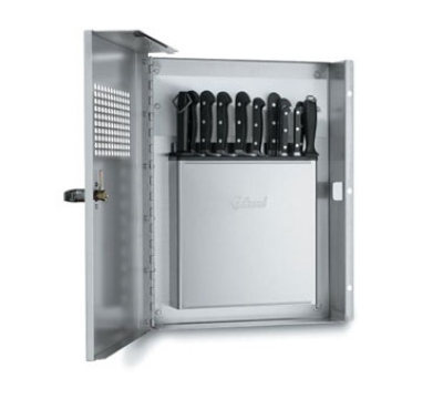 Edlund KLC994 Knife Cabinet, Keyed Locking Handle, Front View Window